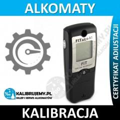 Kalibracja alkomatu FITALCO A1 plus świadectwo kalibracji w [24H]