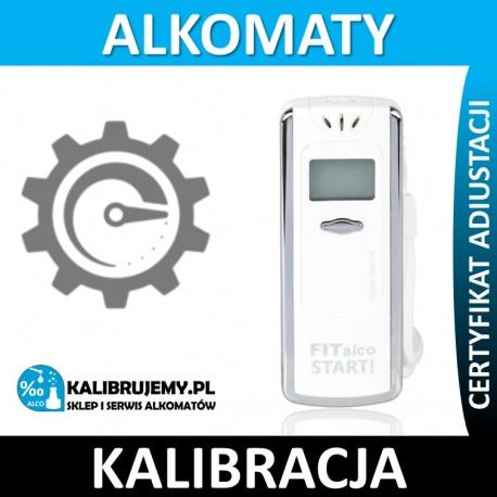 Kalibracja alkomatu FiTalco Start plus świadectwo kalibracji w [24H]