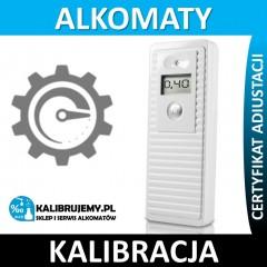 Kalibracja alkomatu PROMILER M2700P plus świadectwo kalibracji w [24H]
