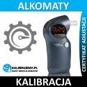Kalibracja alkomatu PROMILER S 6000P plus świadectwo kalibracji w [24H]