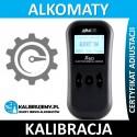 ALKOHIT X60 Kalibracja Serwis Pogwarancyjny