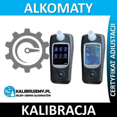 Kalibracja alkomatu FITALCO X1 plus świadectwo kalibracji w [24H]