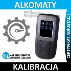 Kalibracja alkomatu Alcolife F5 plus świadectwo kalibracji w [24H]