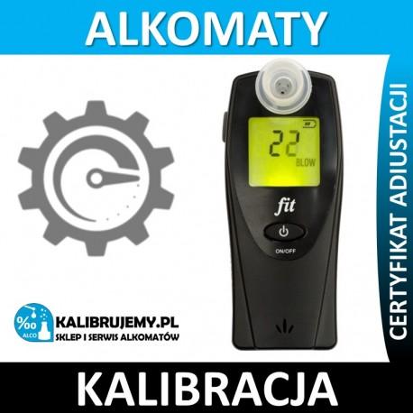 Kalibracja alkomatu FIT plus świadectwo kalibracji w [24H]