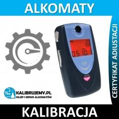 Kalibracja alkomatu FIT 208S plus świadectwo kalibracji w [24H]