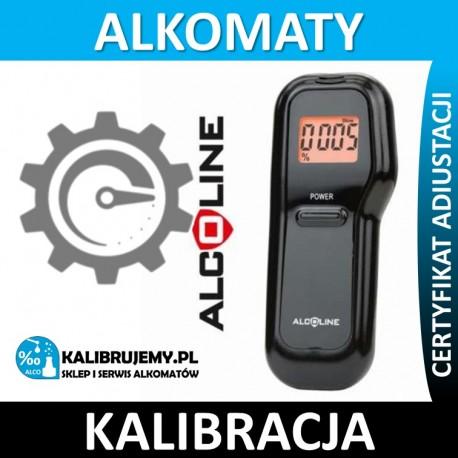Kalibracja Alkomatu ALCOLINE ALX30 w [24H]