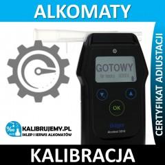 Kalibracja alkomatu DRAGER 5510 + certyfikat! w [24H]