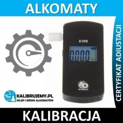 Kalibracja alkomatu A-200 z certyfikatem kalibracji w [24H]
