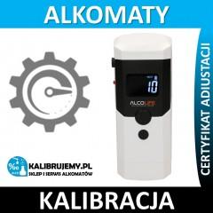 Kalibracja alkomatu AlcoLife F3 z certyfikatem kalibracji w [24H]