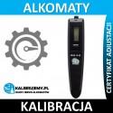 Kalibracja alkomatu AlcoDigital BAC4 z certyfikatem kalibracji w [24H]
