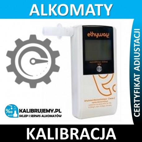 Kalibracja alkomatu ETHYWAY z certyfikatem kalibracji w [24H]