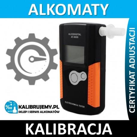 Kalibracja alkomatu AlcoDigital AT-9000 z certyfikatem kalibracji w [24H]