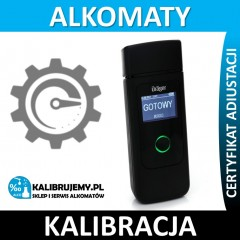 Kalibracja Alkomatu Drager 3820 w [24H]