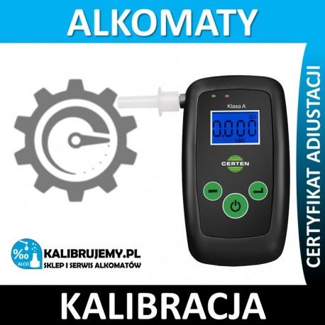 Kalibracja alkomatu CERTEN Personal Black z certyfikatem kalibracji w [24H]