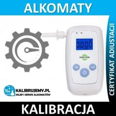 Kalibracja alkomatu CERTEN Personal white z certyfikatem kalibracji w [24H]