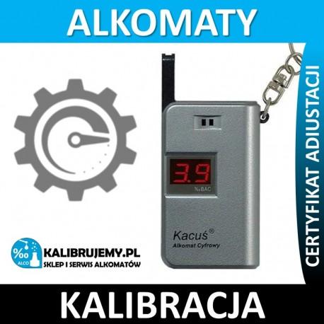 Kalibracja alkomatu ALCOSAFE KACUŚ 4.0 w [24H]