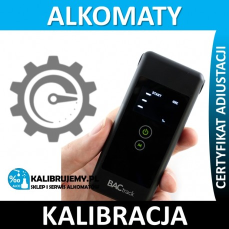 Kalibracja Alkomatu BACtrack trace w [24H]