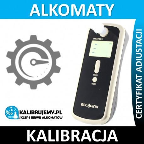 Kalibracja alkomatu DA-8700S w [24H]