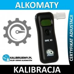 Kalibracja alkomatu BAC 10 w [24H]