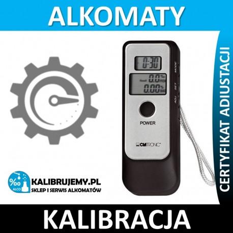 Kalibracja alkomatu Clatronic AT 3260