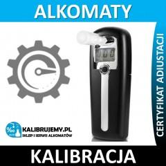 Kalibracja alkomatu Sentech AL-2500 Expert z certyfikatem kalibracji w [24H]