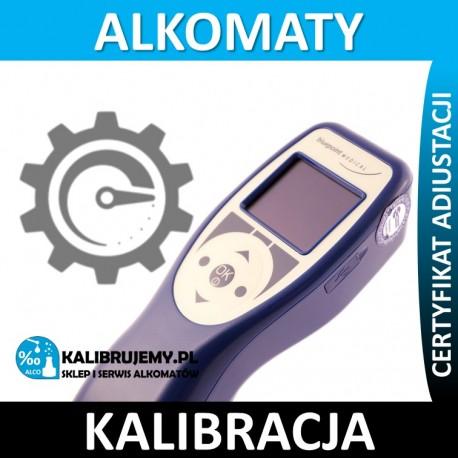 Kalibracja alkomatu AlcoTrue M*** w [24H]