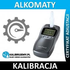 Kalibracja alkomatu AlcoTrue E*** w [24H]
