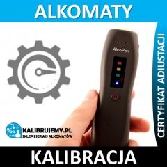 Kalibracja alkomatu AlcoPen w [24H]