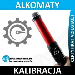 kalibracja alkomatu ALKOTOP w [24H]