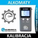 Kalibracja Alkomatu AlcoDigital A-110S w [24H]