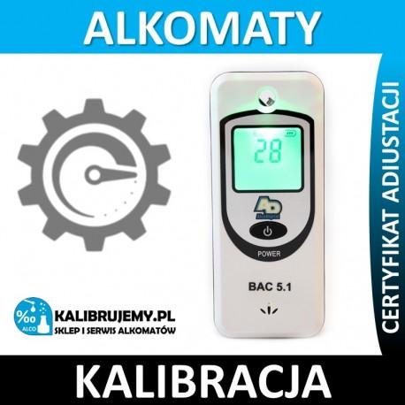 Kalibracja Alkomatu AlcoDigital BAC 5.1 w [24H]