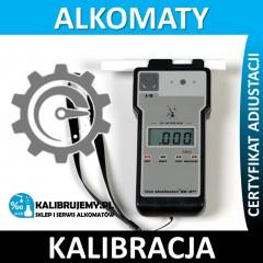 kalibracja alkomatu lion alcolmeter® SD-400 w [24H]