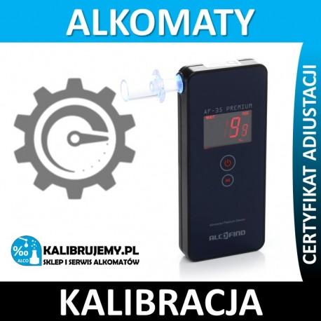 kalibracja alkomatu AF-35 PREMIUM + certyfikat w [24H]