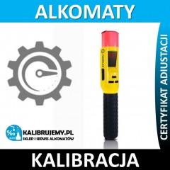 kalibracja alkomatu SENTECH iBLOW + certyfikat w [24H]