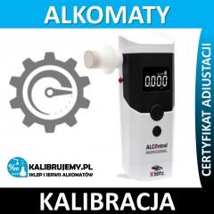 xBlitz kalibracja alkomatu xBlitz ALCOntrol Professional w [24H] z certyfikatem kalibracji