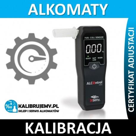 Kalibracja alkomatu xBlitz ALCOntrol mini w [24H] z certyfikatem kalibracji