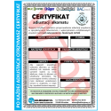 Certyfikat Kalibracji dla Alkomatu