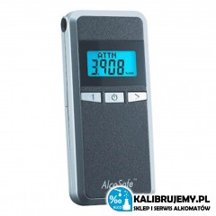 Alkomat AlcoSafe S4 z sensorem połprzewodnikowym od kalibrujemy.pl
