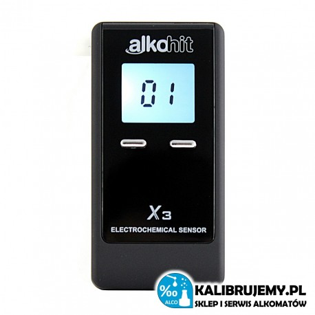 Alkohit X3 alcotest do użytku osobistego