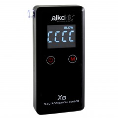 ALKOMAT Alkohit X8 z zastosowanym sensorem elektrochemicznym