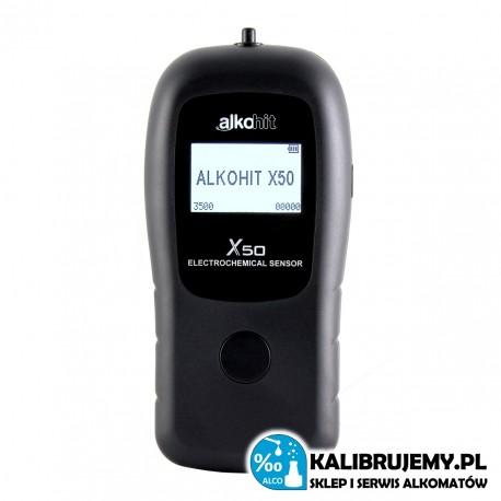 ALKOMAT Alkohit X50 + walizka aluminiowa od ALKOHIT