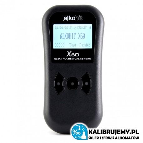 ALKOMAT Alkohit X60 do zastosowań przesiewowoych tzw. bez ustnika