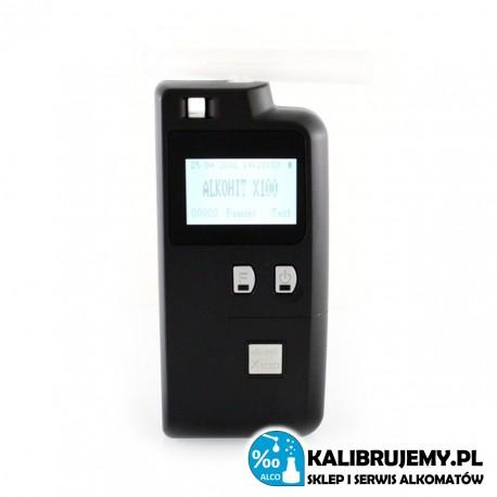 ALKOMAT Alkohit X100 + plastikowa skrzyneczka od ALKOHITU