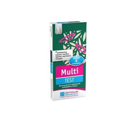Multi Test (Narkotykowy) - testy do wykrywania narkotyków