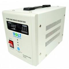 Zasilanie awaryjne Przetwornica Prądu z ładowaniem UPS 500Watt (800Watt) DC:12V 230V