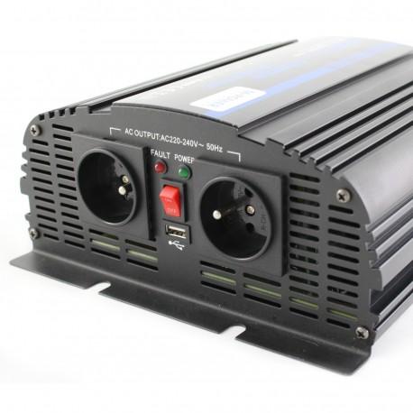 Przetwornica Napięcia 12V 230V Prądu 1200Watt (2400Watt) DC:12V USB:5V