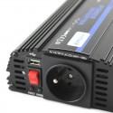 Przetwornica Napięcia 24V 230V Prądu 800Watt (1600Watt) DC:24V USB:5V