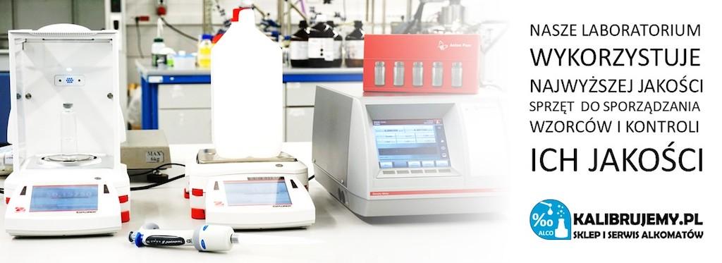 produkcja etanolu do kalibracji alkomatów